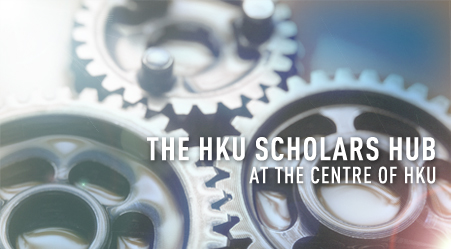 THE HKU SCHOLAR HUB AT THE CENTRE OF HKU